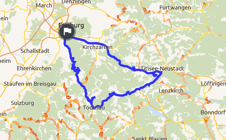 Straßenzustand Schwarzwald